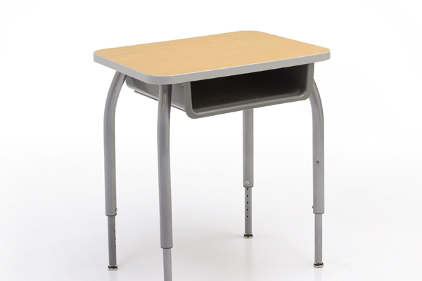 single desk smith system student desks silhouette furniture